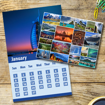 12-months-Calender-printing