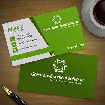 12pt Qucik Business Card