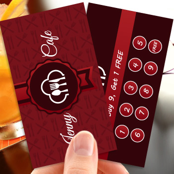 3.5x2 Loyalty Card Printing