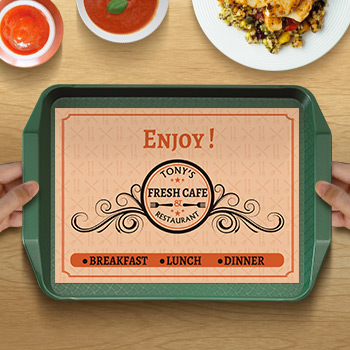 Placemat for Resturant Tray Printing