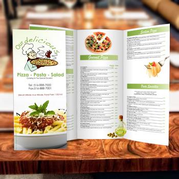5000 Restaurant Menu Printing