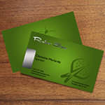 Silk Laminated Business Card