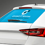 Rear Car Window Decals